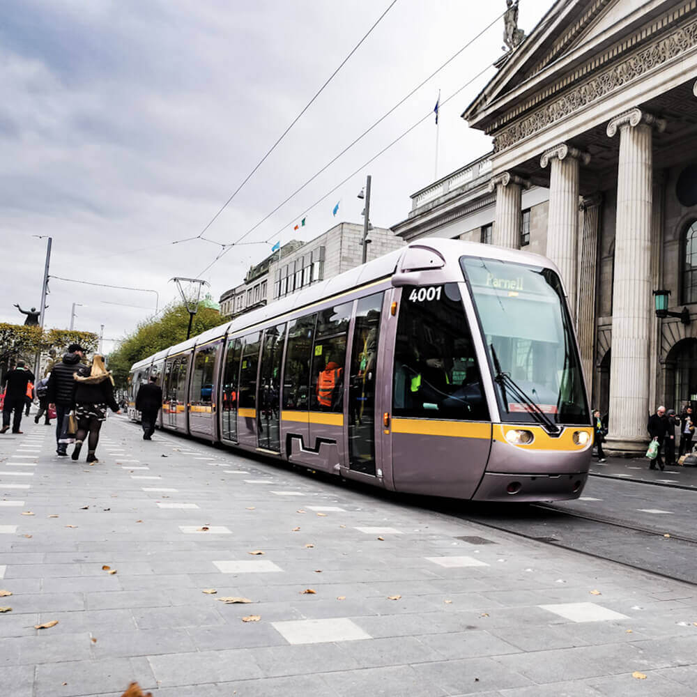 Luas Project, O'Connell St.